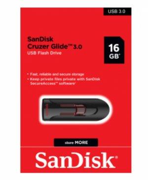 USB 16GB - SanDisk Cruzer Glide 3.0 - Flash Drive