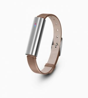 Vòng Đeo Tay Misfit Ray Leather Band - Stainless Steel