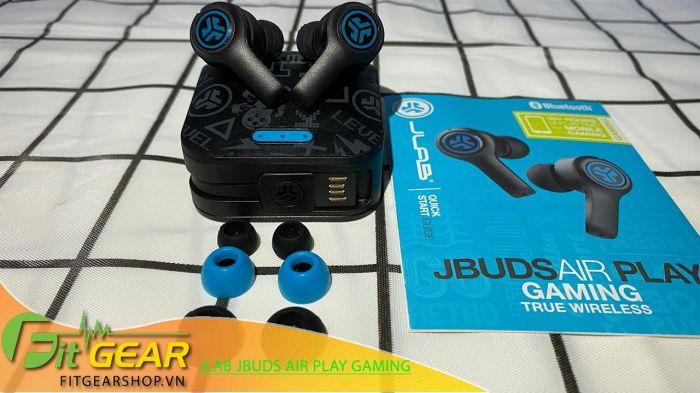Mở Hộp tai nghe JLAB JBUDS AIR PLAY GAMING EARBUDS