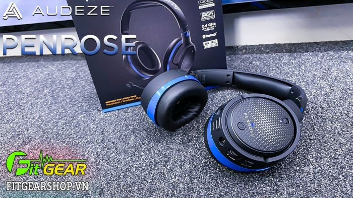 Unboxing Audeze Penrose   Tai nghe Gaming sở hữu driver Từ Phẳng với chất âm Audiophile siêu hay.